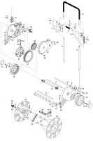 GARDENA Ersatzteile Schlauchmobil 70 roll-up 2641/2642