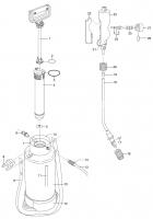 GARDENA Ersatzteile Drucksprüher 5 L 822