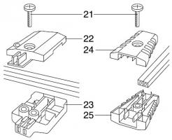 GARDENA Ersatzteile Lightline Kupplung 4315