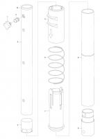 GARDENA Ersatzteile combisystem Teleskopstiel 3712