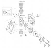 Ersatzteile GARDENA Bewässerungscomputer FlexControl 1883