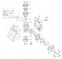 Ersatzteile GARDENA Bewässerungscomputer SelectControl 1885