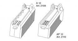 Ersatzteile GARDENA V12 Accu-Pack A 12 2109 AP 12 2110
