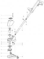 Ersatzteile GARDENA V12 Trimmer TL 18 2170/2262