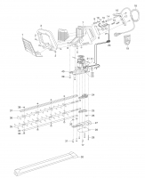 Ersatzteile GARDENA Elektro Heckenschere 68 S 2304
