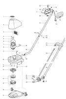 Ersatzteile GARDENA Turbotrimmer 200 2390 250 2395