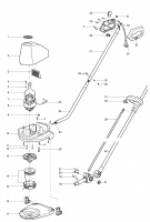 Ersatzteile GARDENA Turbotrimmer 300 2400