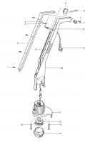Ersatzteile GARDENA Turbotrimmer 300 2550