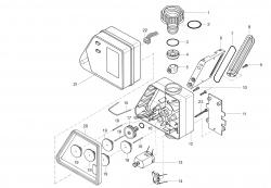 Ersatzteile GARDENA Bewässerungscomputer 1030 1235