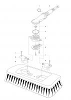 Ersatzteile GARDENA Cleansystem Gelenkschrubber und Gelenkwaschbürste 5634/5638 bis Bj. 2007