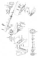 Ersatzteile GARDENA Turbotrimmer 400 Duo 2560