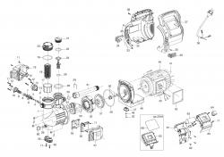 Ersatzteile GARDENA Classic Hauswasserautomat 3500/4E 1757