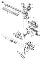 Ersatzteile GARDENA Teleskop Heckenschere THS 500/48 8883
