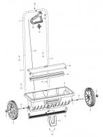 GARDENA Ersatzteile Streuwagen L 432
