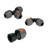Ersatzteile GARDENA Verbindungsteile für Sprinkler System neu 25 mm Rohre
