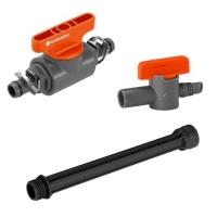 GARDENA Micro Drip System Ventile und Verlängerungsrohre