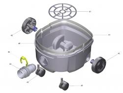 Ersatzteile Kärcher Trockensauger Geräteteile ProT 200  1.527-400.0