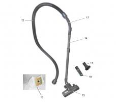 Ersatzteile Kärcher Trockensauger Geräteteile VC 2 (ERP)-I 1.198-105.0